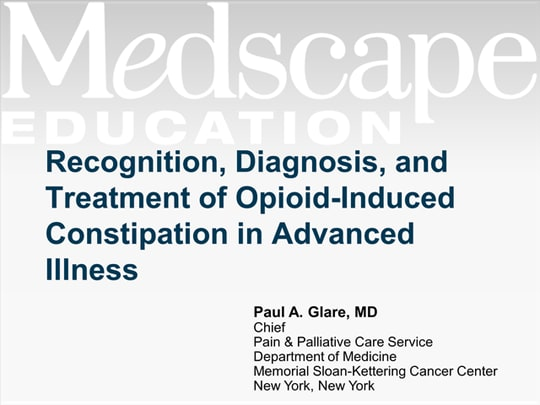 Recognition Diagnosis And Treatment Of Opioid Induced