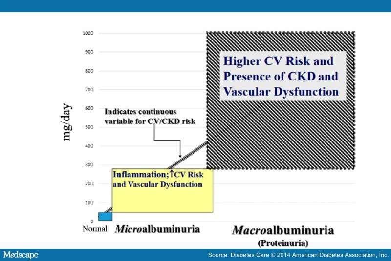microalbuminuria as a risk predictor in diabetes