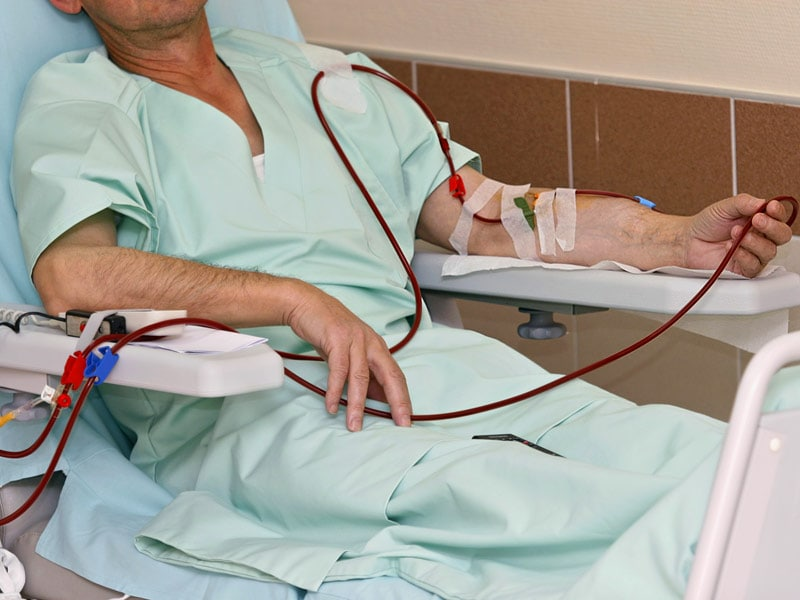 Zithromax on dialysis patient