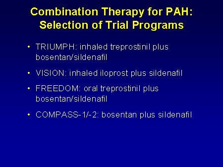 TRIUMPH Long-term, open-label - For the Treatment of PAH