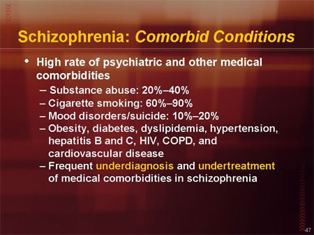Caring for adults with schizophrenia