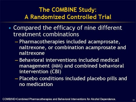acamprosate naltrexone combination