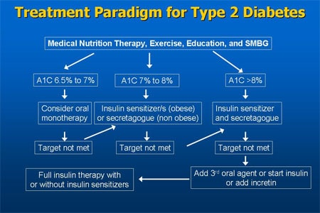 2 diabetes treatment type: