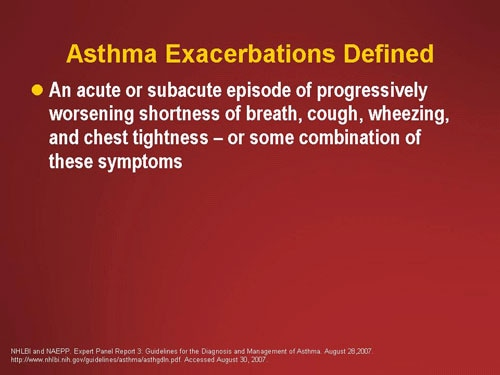 asthma action plan prednisone