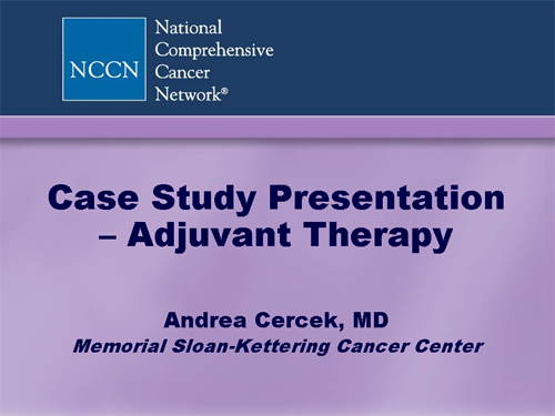 clinical case study powerpoint presentation