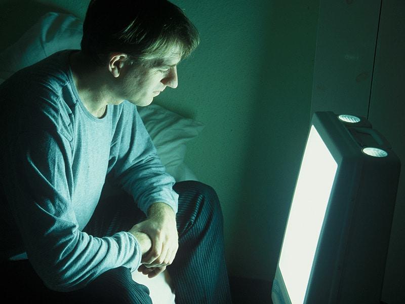 light therapy highly effective for major depression. Black Bedroom Furniture Sets. Home Design Ideas
