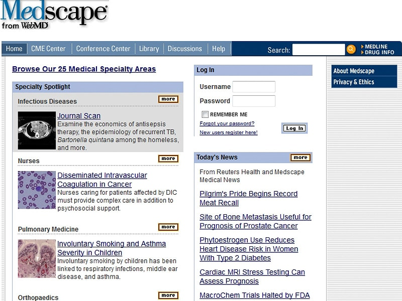 A Brief History of Medscape as I Know It
