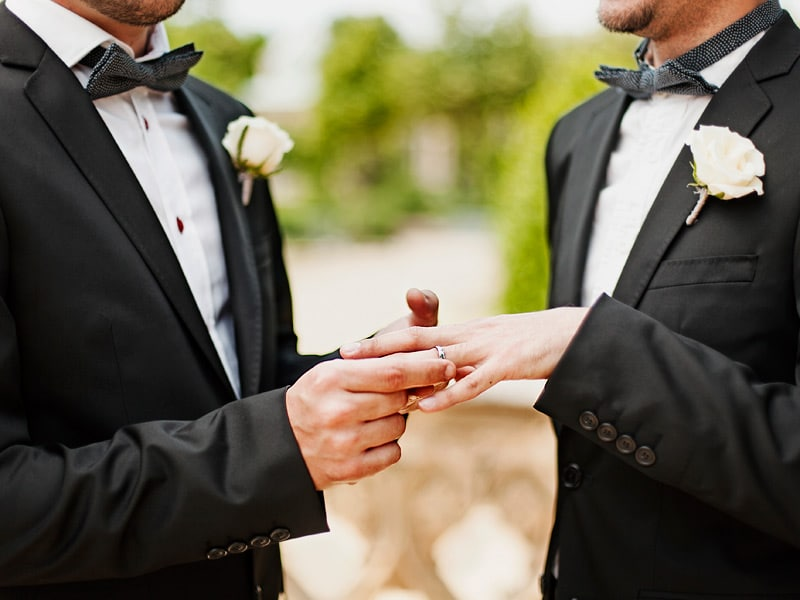 Gay group interest marriage