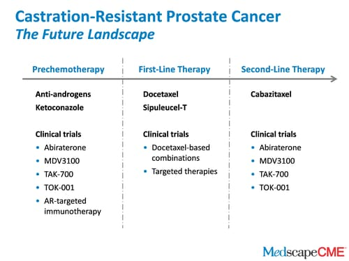 Castration Resistant Prostate Cancer Approach To The