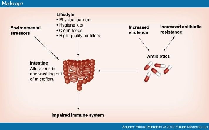 The microbiome the forgotten organ of the astronaut s body