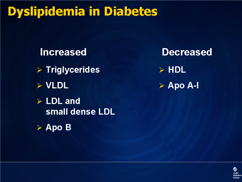 hypercholesterolemia and diabetes relationship