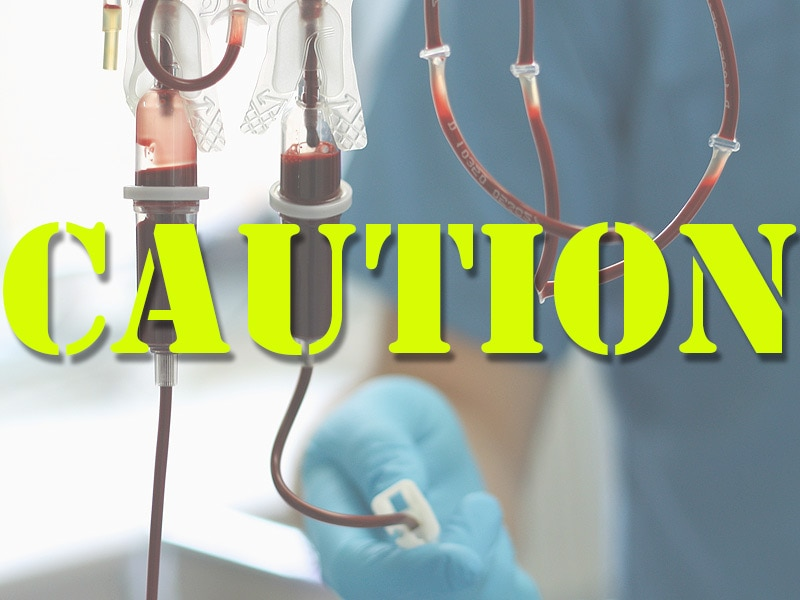 Transfusion-Related Food Allergy Transmission Rare, Transient