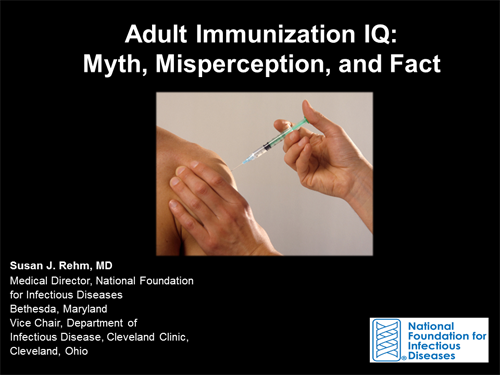 Test your knowledge of vaccine-preventable disease in adults, and the  Advisory Committee on Immunization Practices (ACIP) Recommended Adult  Immunization ...