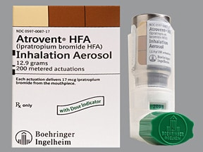 Atrovent Hfa Inhalation Uses Side Effects Interactions