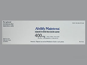 Abilify Maintena Intramuscular Uses Side Effects