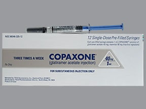 Copaxone Subcutaneous Uses Side Effects Interactions