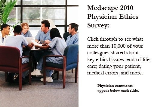 Physicians' Top 20 Ethical Dilemmas - Survey Results Slideshow