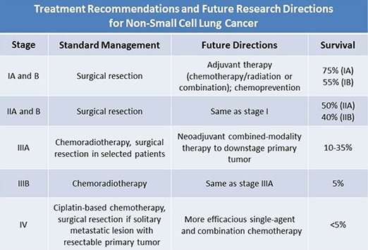 Lung Cancer Keys To Radiographic Assessment And Staging