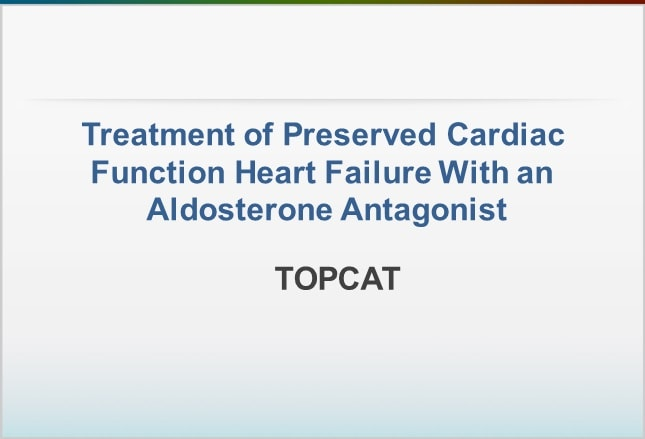 Treatment of Preserved Cardiac Function Heart Failure With an ...