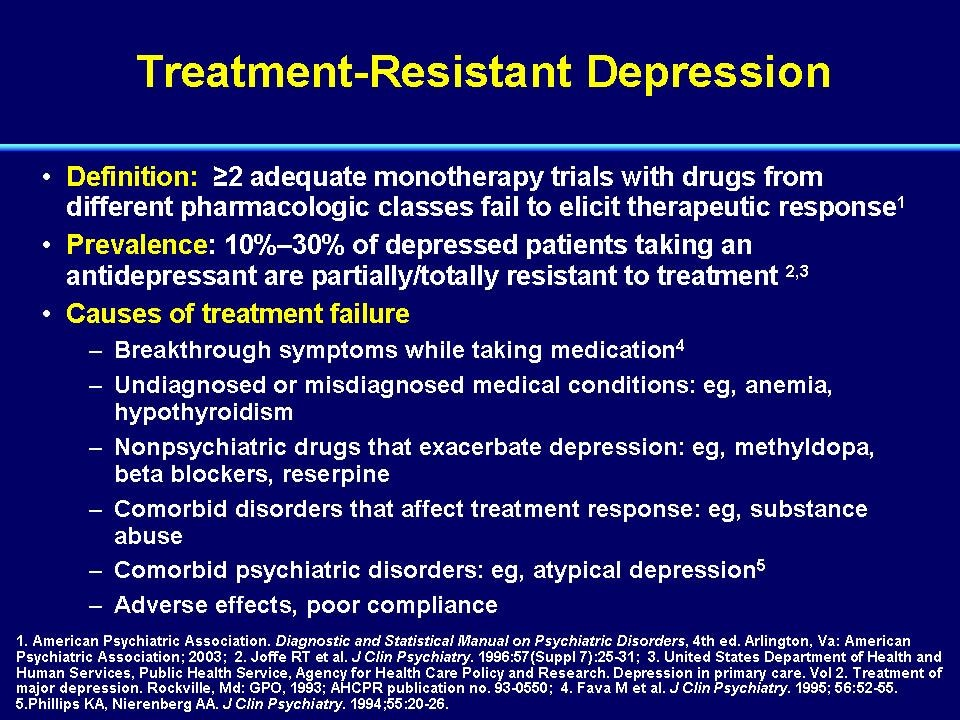 Module 1 Advances In The Biology And Treatment Of Depression