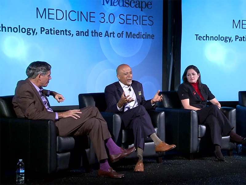 Abraham Verghese: 'We Are Responsible' for EHR Dysfunction