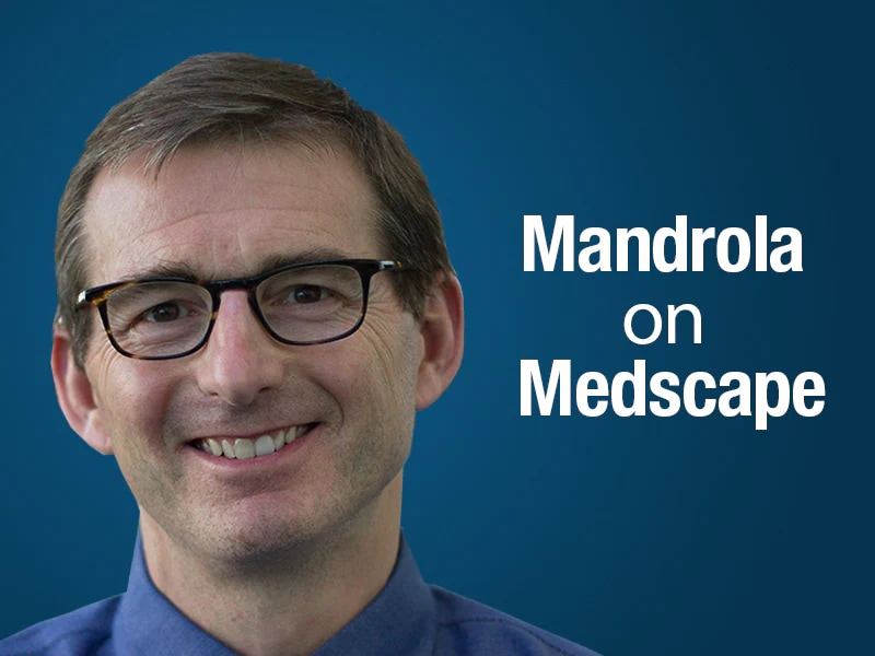 Mandrola on Medscape