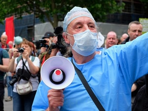 Physicians Rally on Hill to Safeguard Emergency Care