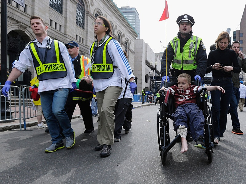 reaction to boston bombings Free essay: one of the major reactions to the boston marathon bombing occurred on the internet social media was especially rife with speculation over who.