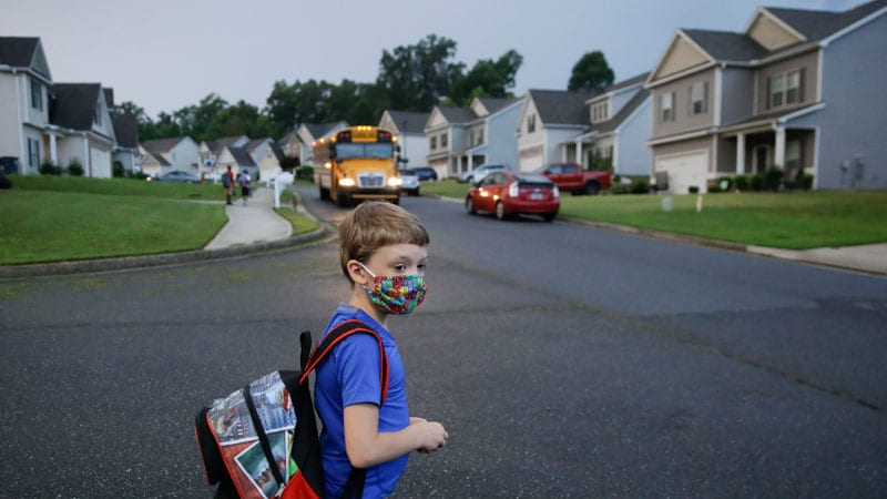 Send Kids to School Safely if Possible, Supplement Virtually