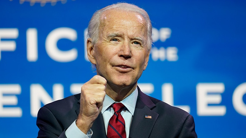 Biden Lays Out Top Three COVID Priorities for First 100 Days