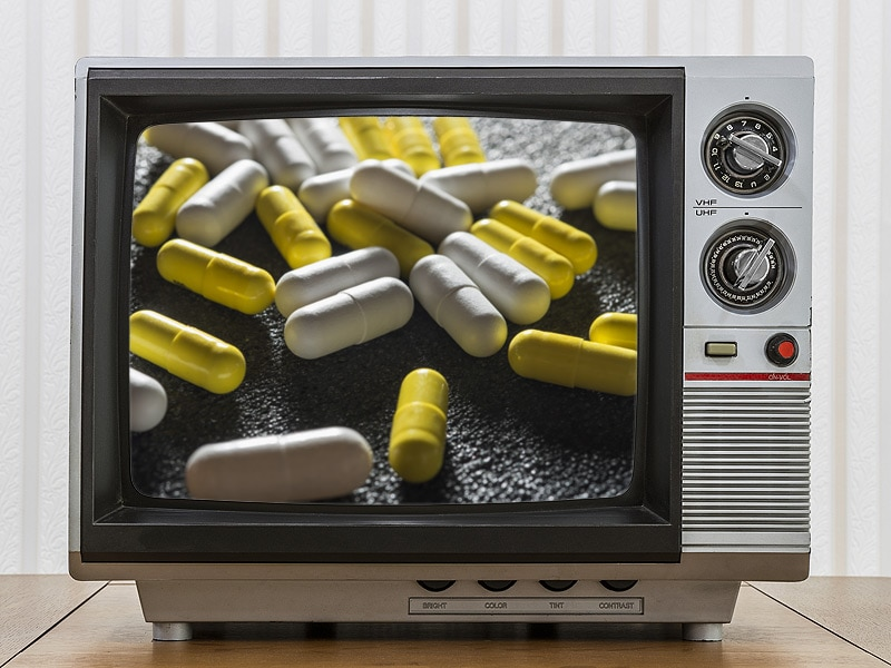 direct to consumer advertising of drugs using television The united states is one of two countries, along with new zealand, to permit direct-to-consumer prescription drug advertisements this is.