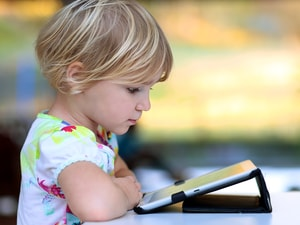 Digital Device Use Rampant Among Preschoolers
