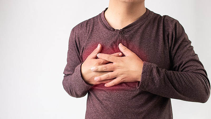 Stress-Induced Brain Activity Linked to Chest Pain in CAD Patients
