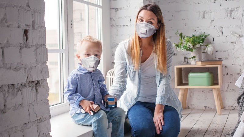 Should Healthcare Workers Wear Masks at Home?