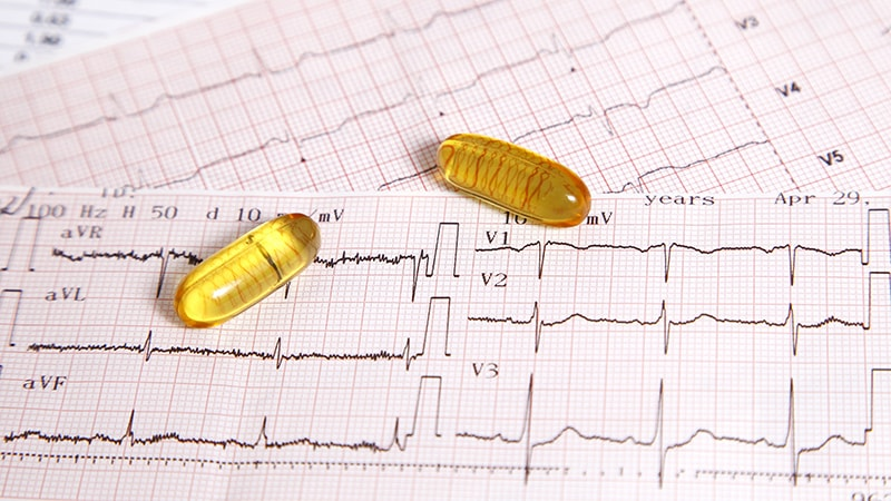 Omega-3, Vit-D Both Fail at AF Primary Prevention in VITAL-Rhythm