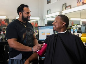 Barbershop-Based Healthcare Cuts Hypertension in Blacks
