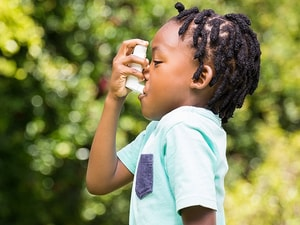 Asthma Not Stopped by Boosting Inhaled Steroids in Children