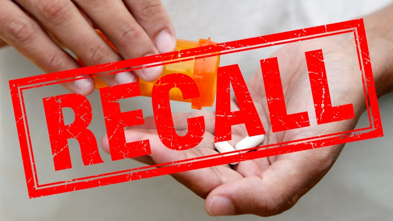 Ripple Effect: Repackaged Losartan Recalled Due to Impurity