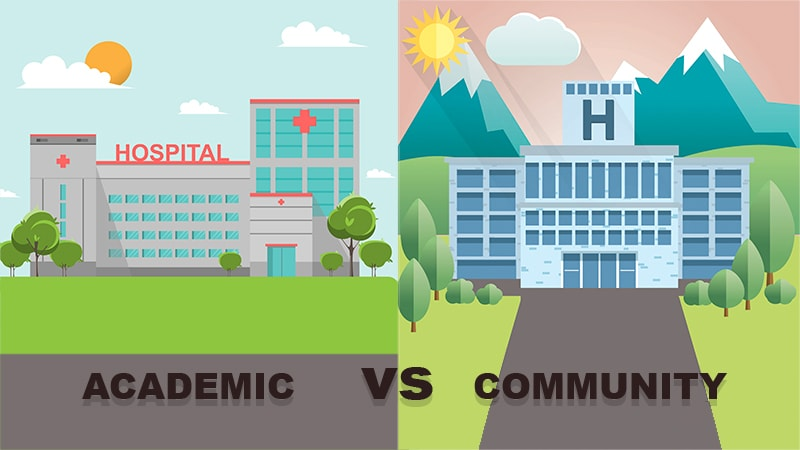 Is There a Difference Between Academic and Community Practice?