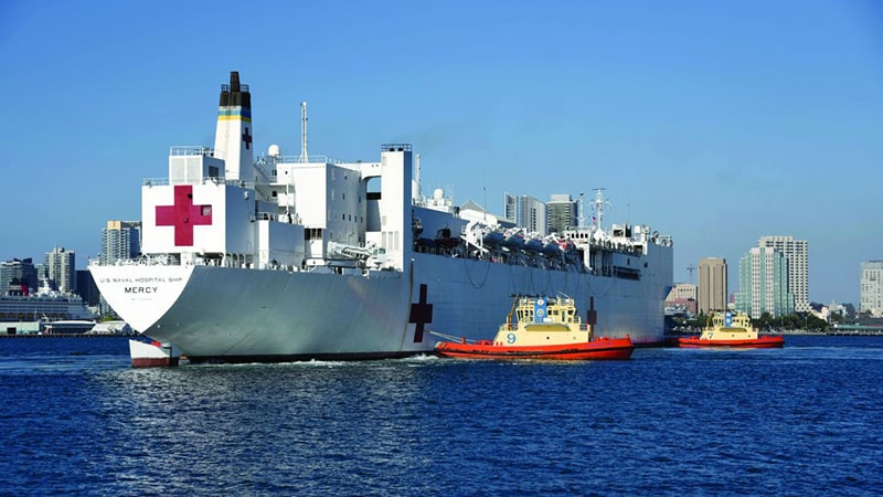 A Hospital Ship's Mission During a COVID-19 Peak in LA thumbnail