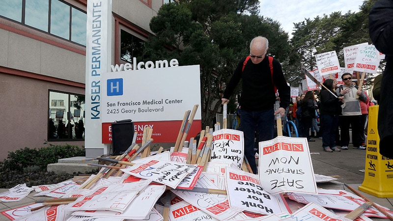 Kaiser Permanente's California Workers Vote to Authorize Strike