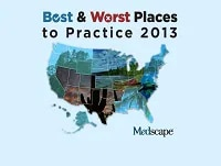 Best and Worst Places to Practice: 2013