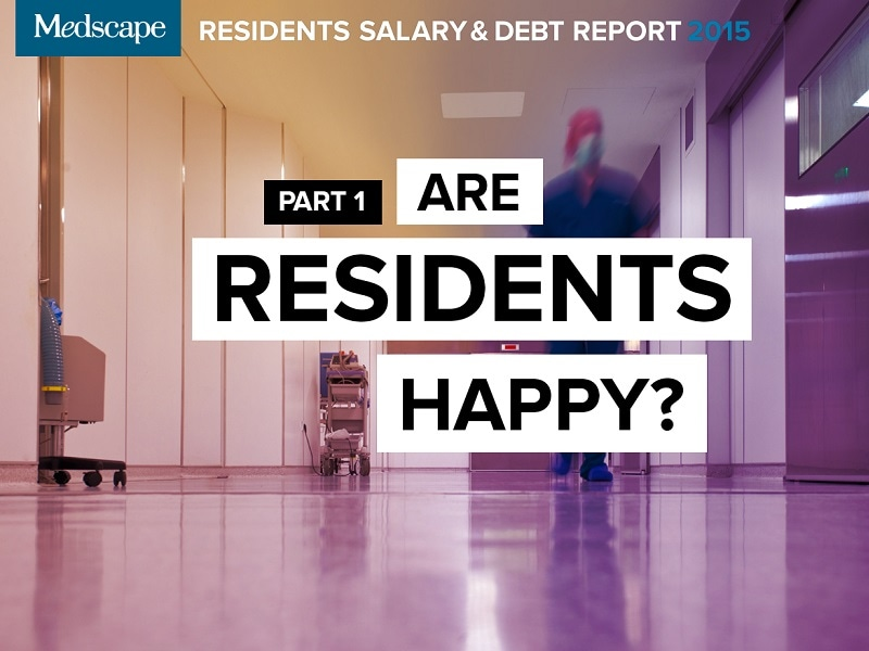 Residents Salary & Debt Report 2015: Are Residents Happy?