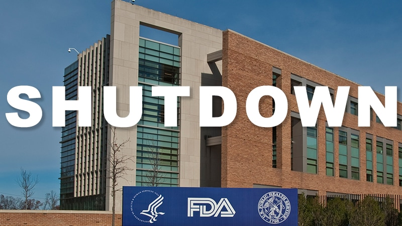 Shutdown Starting to Delay New FDA Reviews, Approvals